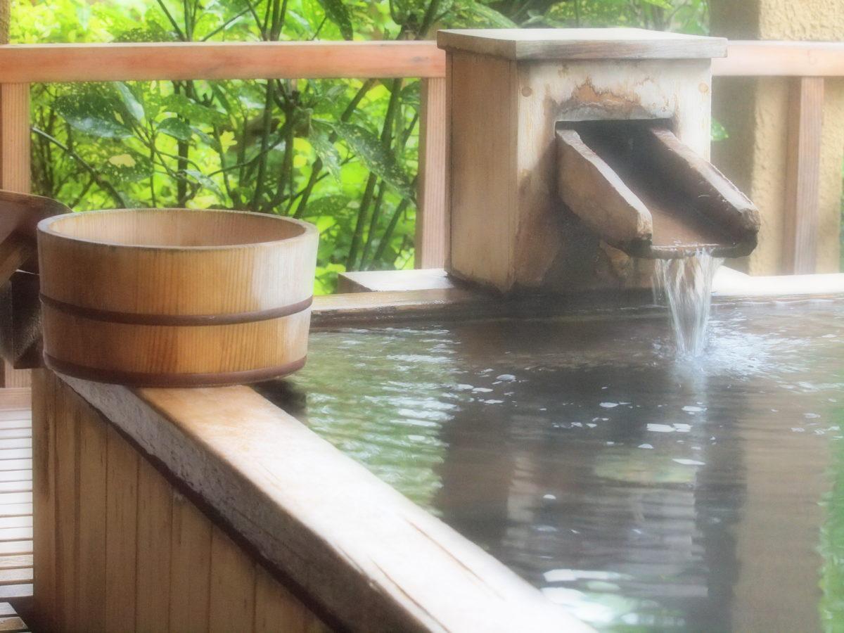 トリミング温泉浴